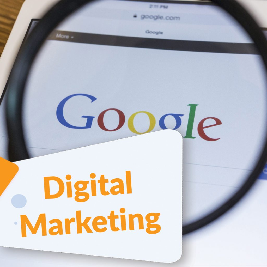 digital marketing tab