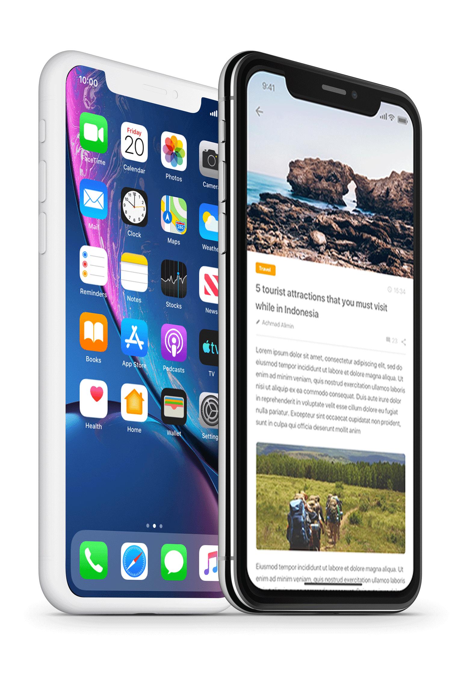 dual phone image