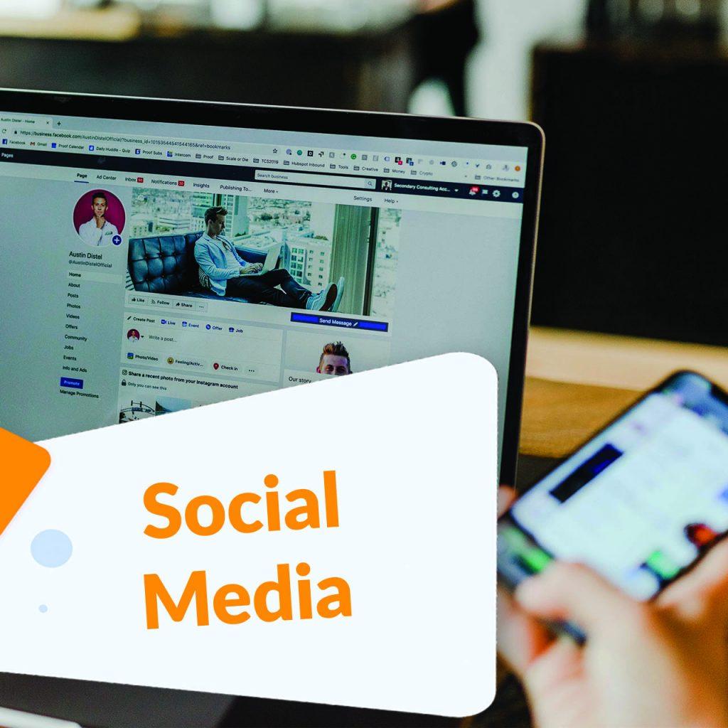 social media tab