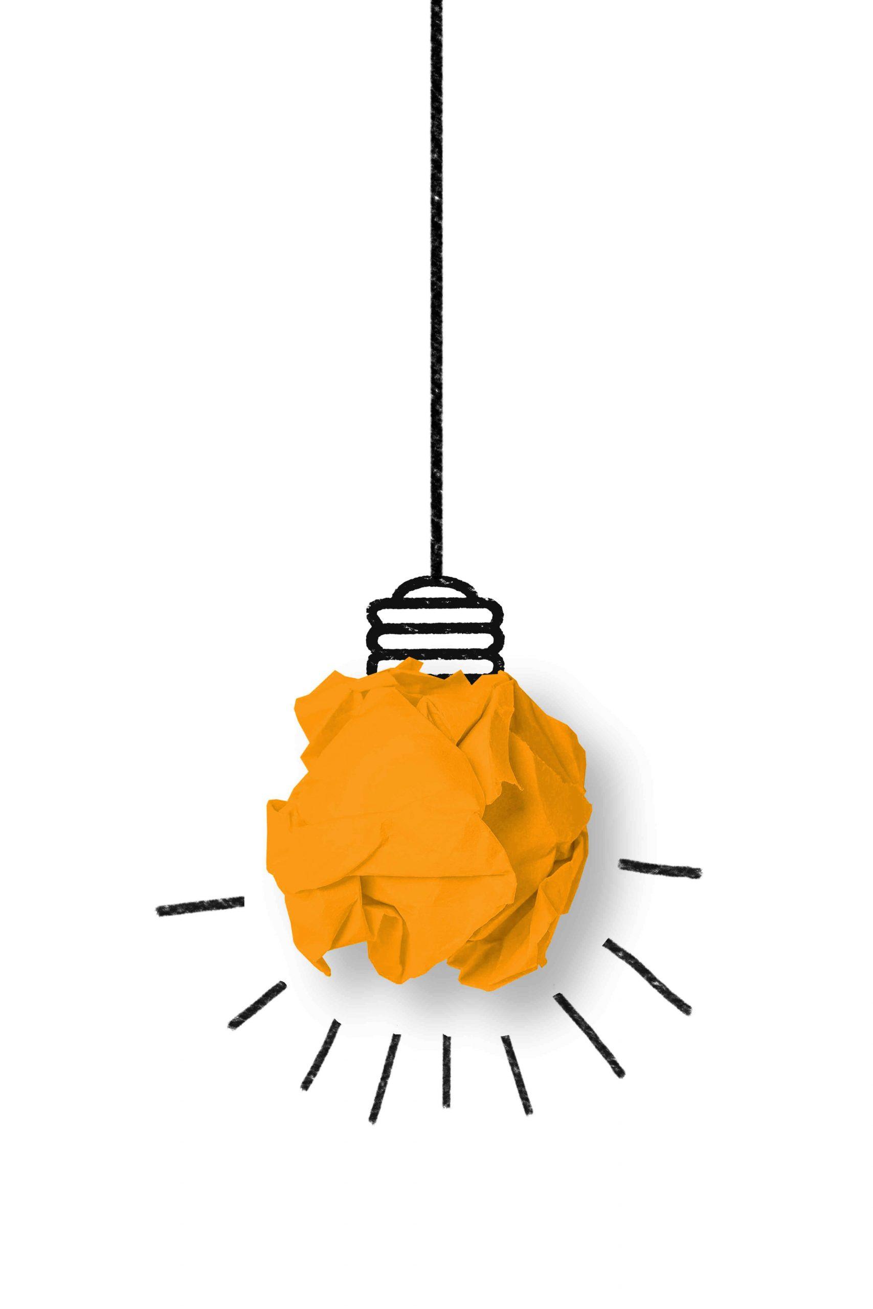 Small Business Box light bulb
